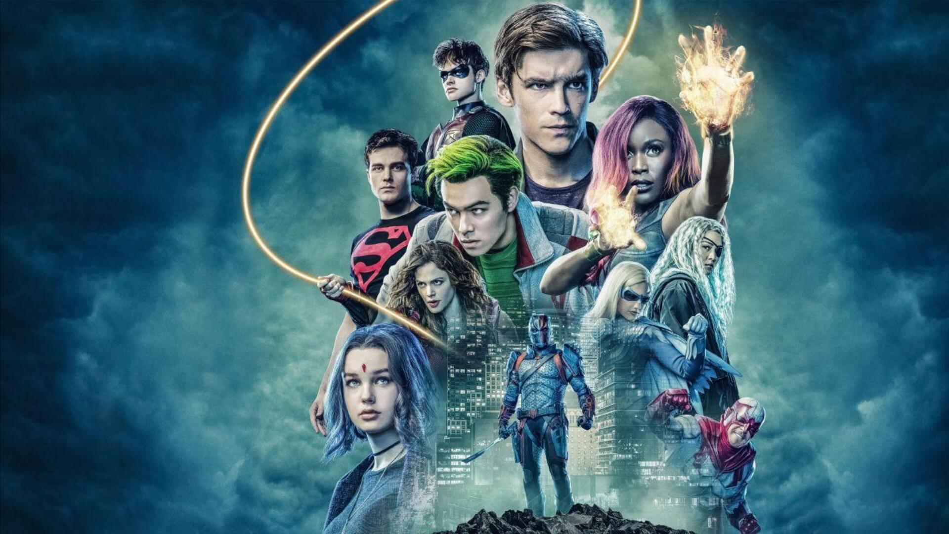 'Titans' Season 3 Production Update
