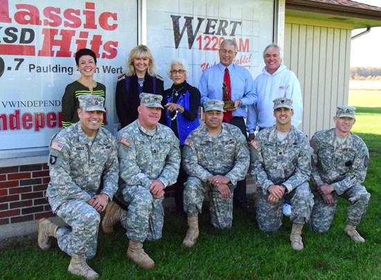 Ohio Guard honors local radio stations « The VW independent