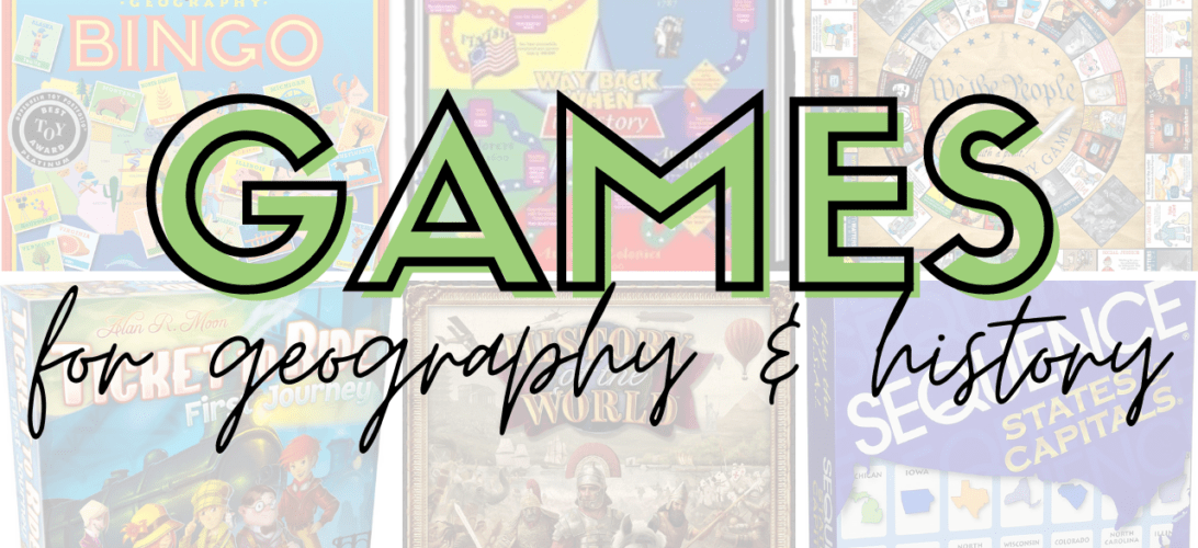The Best Games for Geography & History Gameschooling