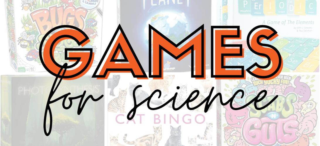The Best Games to Gameschool Science
