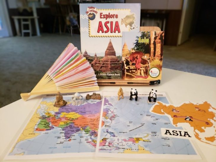 Continent Boxes Asia