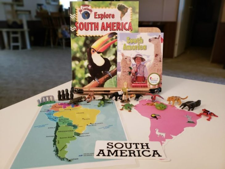 Continent Boxes South America