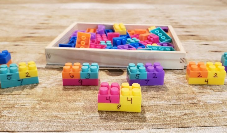 Mastering Math Facts with LEGO