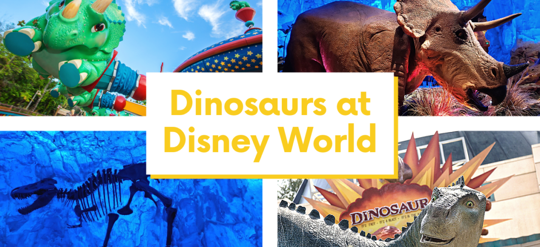 Do you have a dinosaur lover? Are you visiting Disney World soon? Get the 411 on all the dinosaurs at Disney and which ones are best for your family.