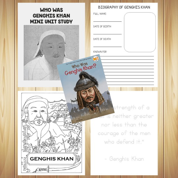 Who Was Genghis Khan Study