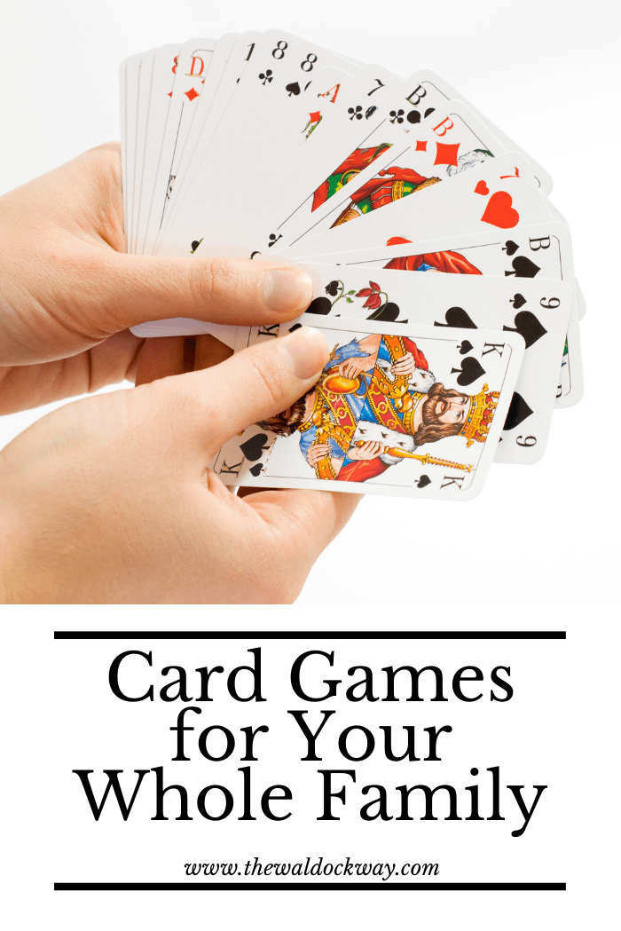 If you are short on space to store or play games card games are a great option. Here are 60+ card games for all ages to enjoy!
