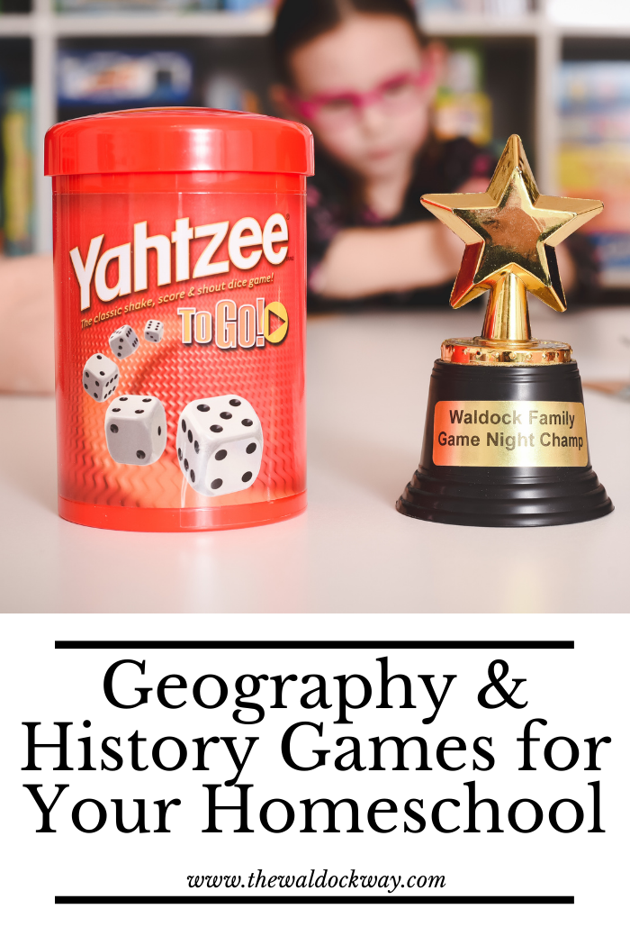 Games are not only great for learning but they are ESSENTIAL in our homeschool. Here are the top 25 games for geography & history.