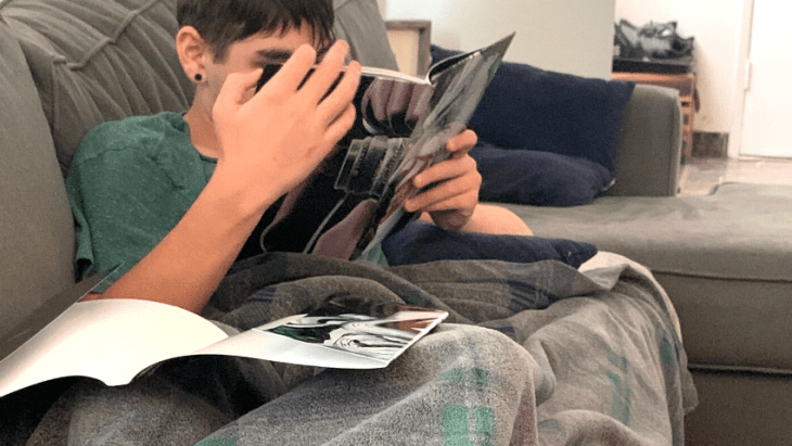 homeschooling an only child for the first time