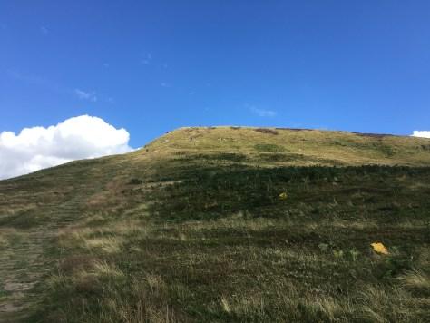 Another steep little climb.