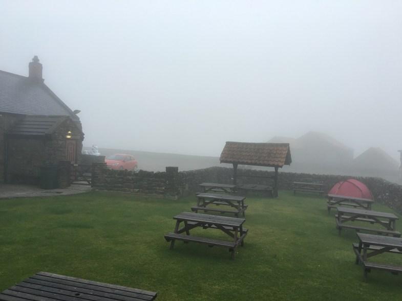 Morning mist The Lion Inn