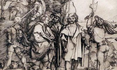 Lanzichenecchi e il dialetto di Roma