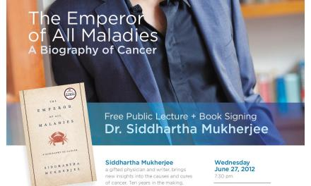 Pulitzer Prize Winning Author Coming to Thunder Bay for Free Public Talk