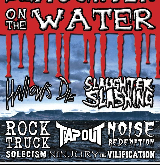 Slaughter on the Water: Metal Festival 2012