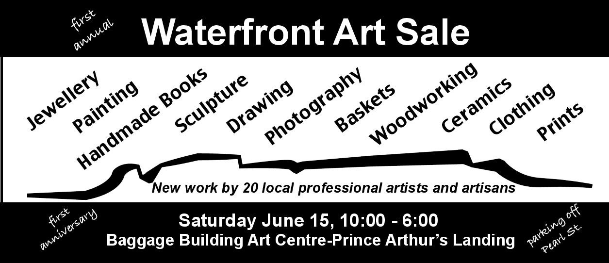 First Annual Waterfront Art Sale