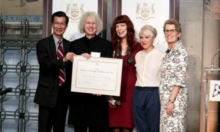 Definitely Superior Art Gallery selected as Laureate Winner at the 2013 Premier's Awards For Excellence In The Arts