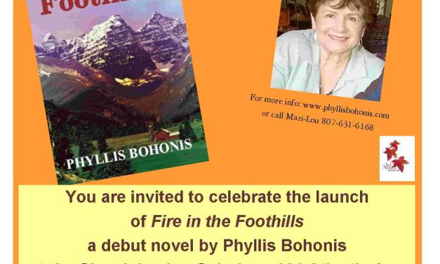 Book Launch: Fire in the Foothills