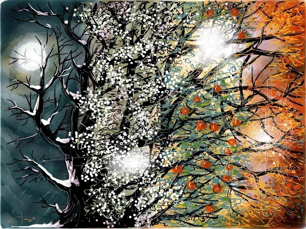 seasons by Claudio Boccardo