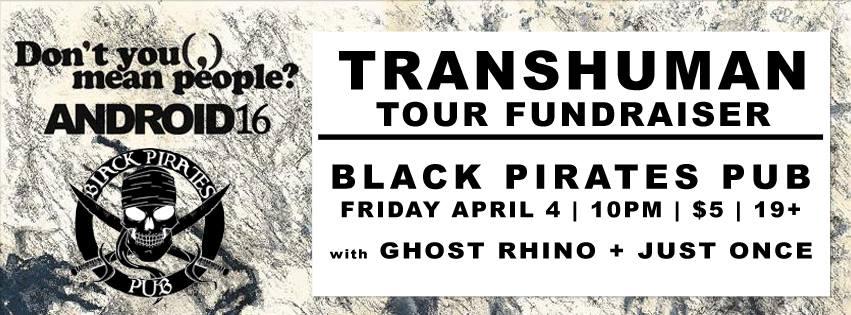 Transhuman Tour Fundraiser