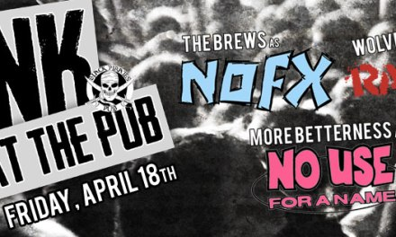Fists in the Air, Amen Forever: Punk at the Pub
