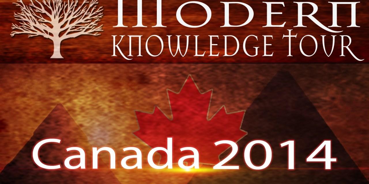 Modern Knowledge Tour 2014