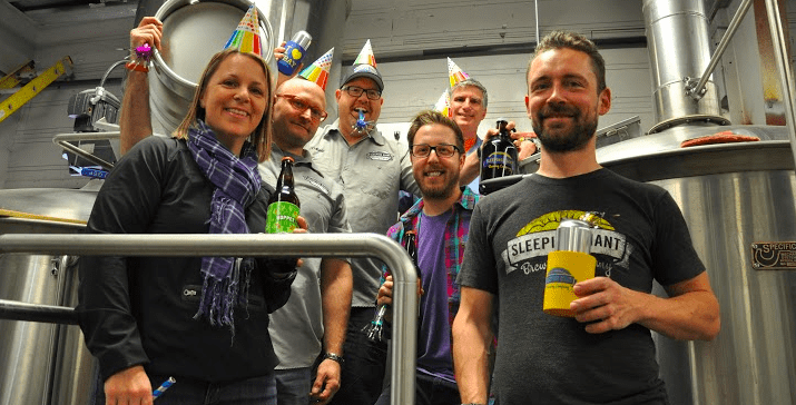 Three Cheers for Three Years: Sleeping Giant Brews Bigger and Better