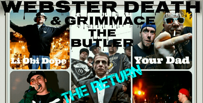 They're Ba-ack! Webster Death + Grimmace the Butler Reunite on July 18