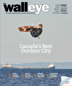 The Walleye August 2015