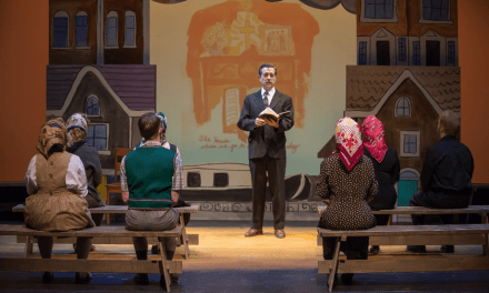 """A Very Storied Book of Everything — Magnus Theatre presents """"The Book of Everything"""""""