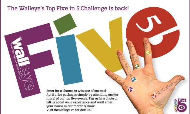Top Five in 5 Challenge