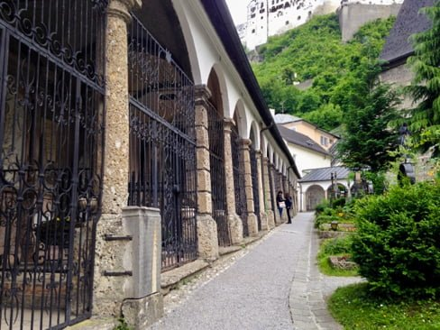 Locked Catacombs • 5 Underrated Things to Do in Salzburg, Austria | The Wanderful Me