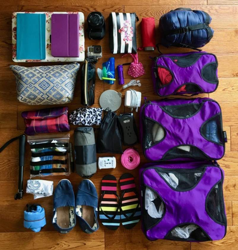 Packing for Southeast Asia.
