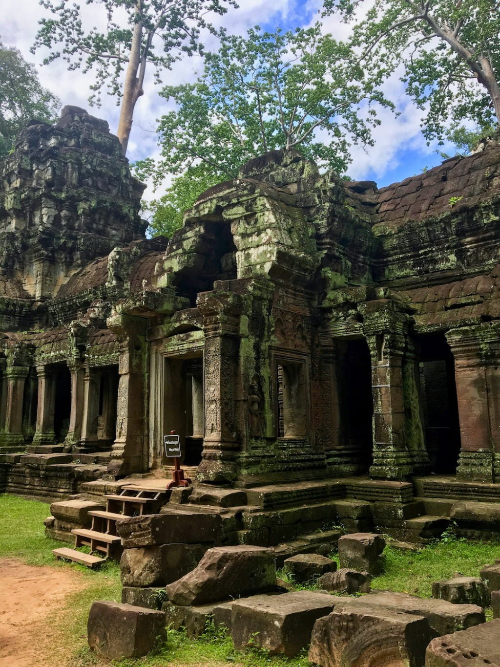 Temple Ruins • Remarkable Tips to Make Traveling to Cambodia Easier | The Wanderful Me
