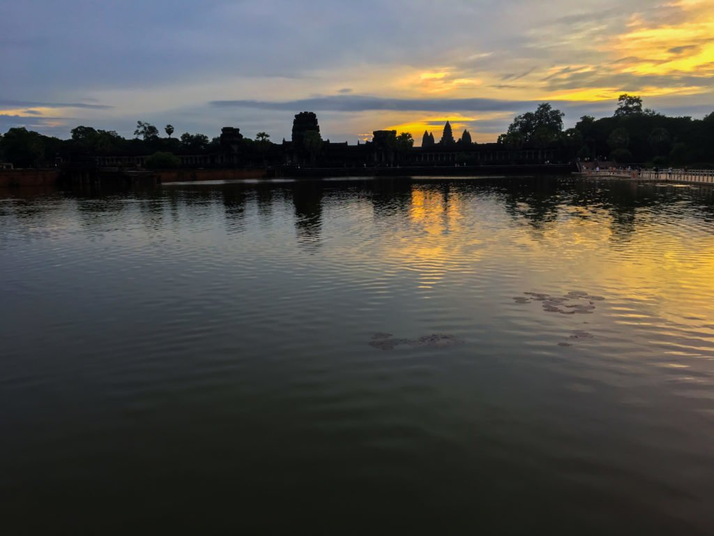 Sunrise at Angkor Wat • Remarkable Tips to Make Traveling to Cambodia Easier | The Wanderful Me