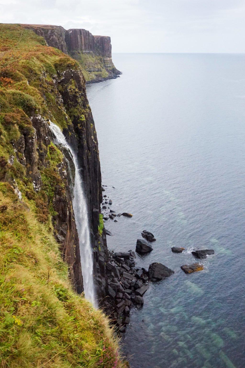 Mealt Falls and Kilt Rock •3-Day Tour to Skye, The Highlands, and Loch Ness | The Wanderful Me