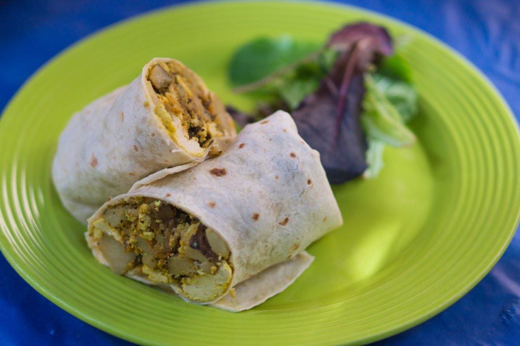 Breakfast Burrito - Desert Roots Kitchen • 10 Fantastic Vegan Restaurants in Phoenix, Arizona
