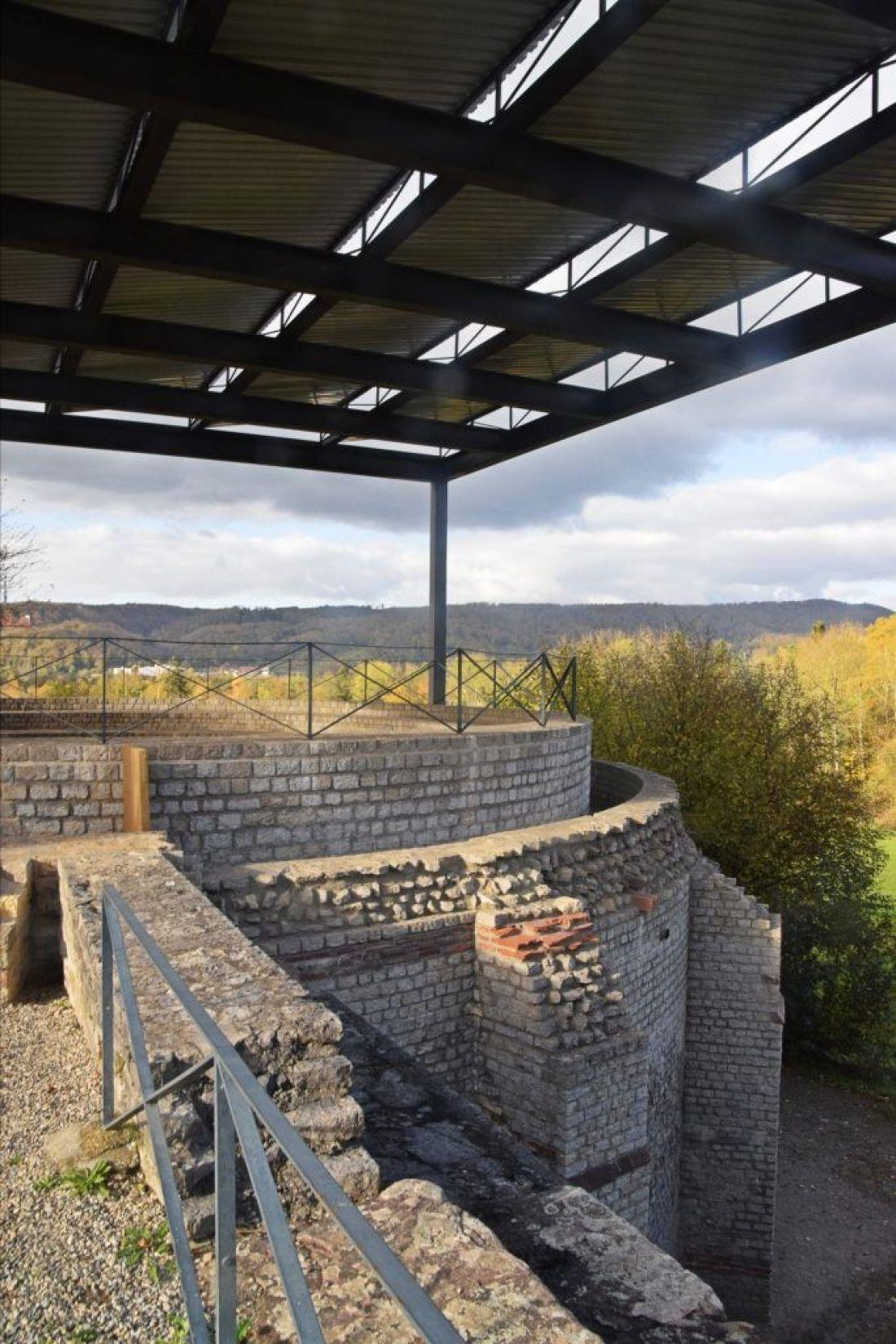 The curia in Augusta Raurica, Switzerland