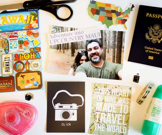 Scrapbooking Your Travel Memories