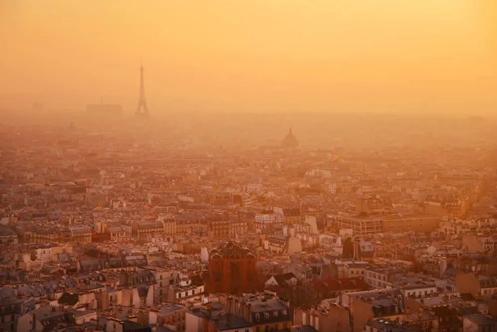 Paris - Top 10 Places to Photograph Sunset around the world