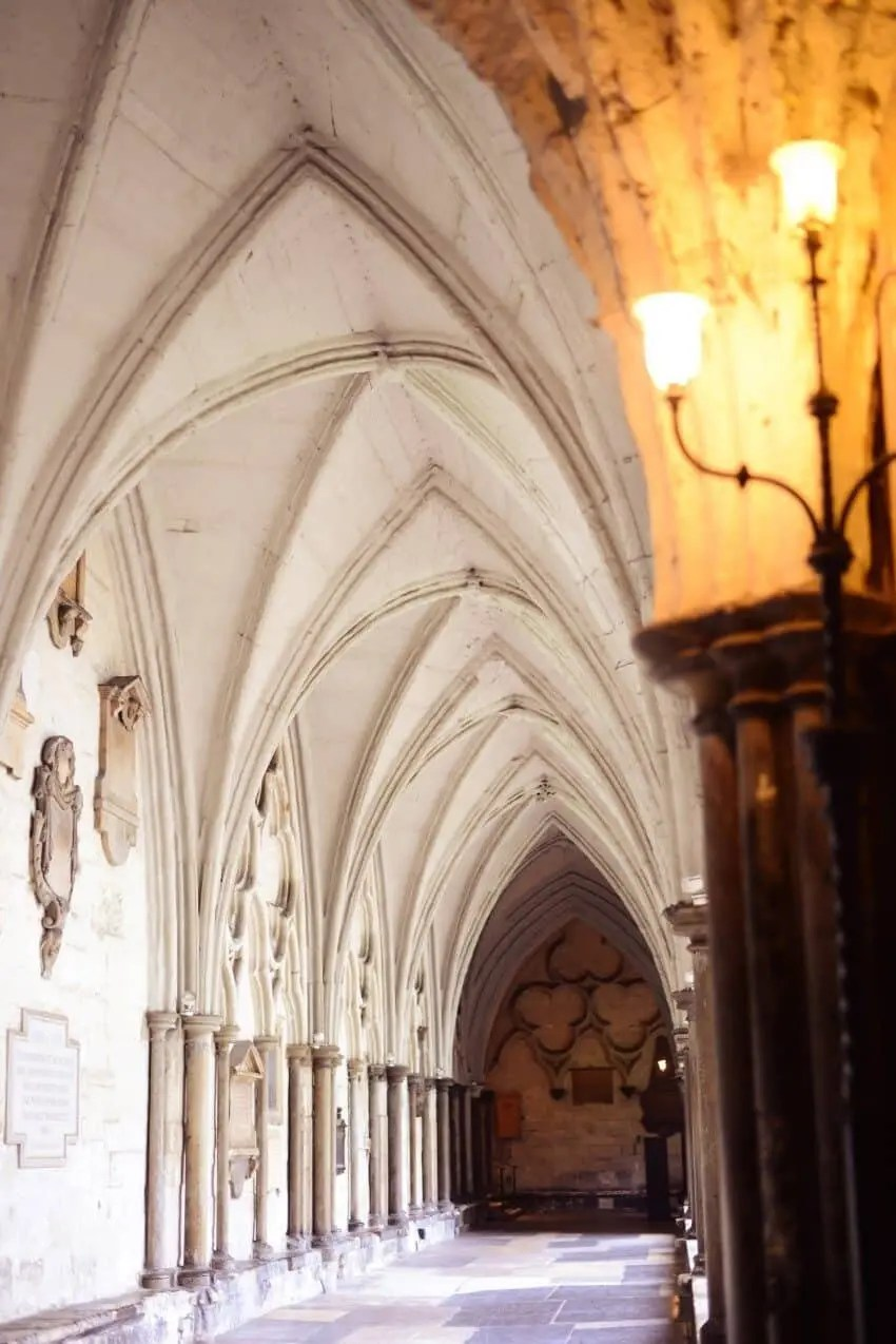 Inside the incredible Westminster Abbey...well worth a visit inside!