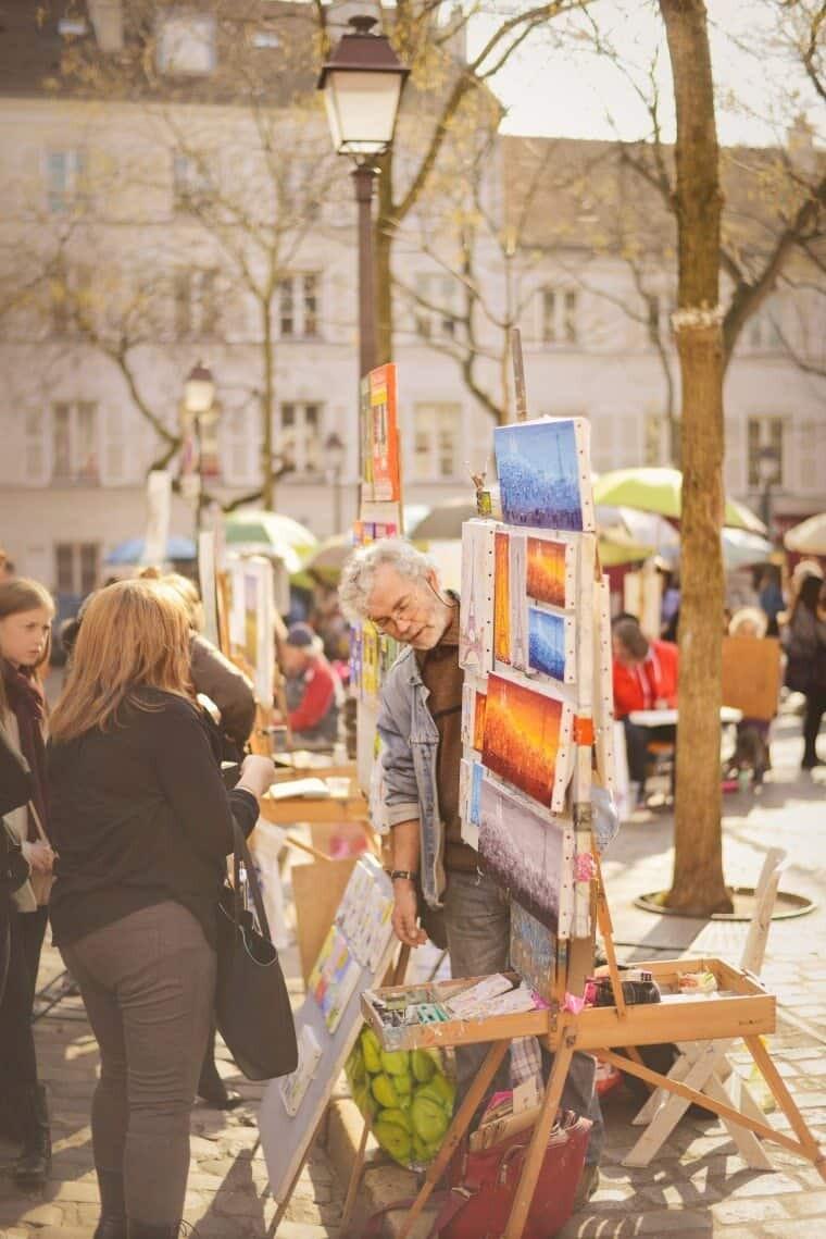 Montmartre Place du Tetre
