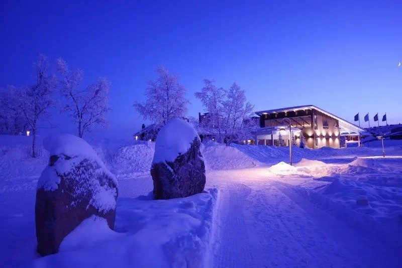 The Wandering Lens, Camp Ripan Kiruna Sweden review