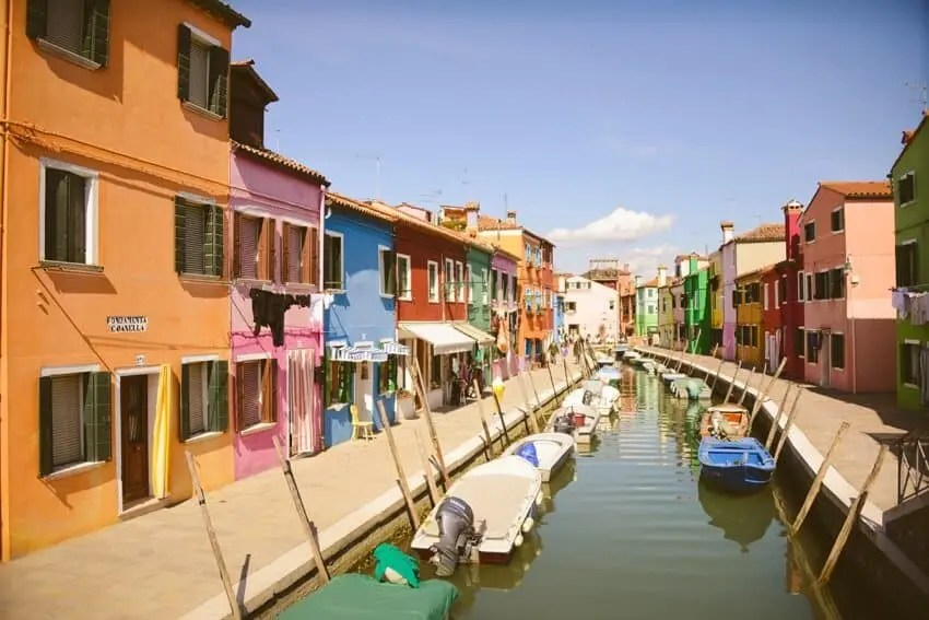 Burano, Italy just a short ferry from Venice by The Wandering Lens http://www.thewanderinglens.com/