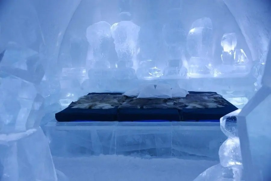 Ice Hotel Sweden by The Wandering Lens