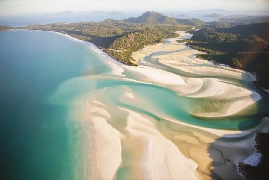 Whitehaven Beach, Queensland, Australia photographed by Lisa Michele Burns of The Wandering Lens