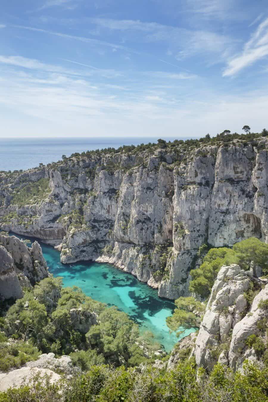 Calanque d'En Vau Cassis and Marseille Hiking