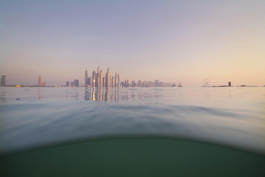 Dubai Photography - The World from The Water - Underwater photos of Dubai