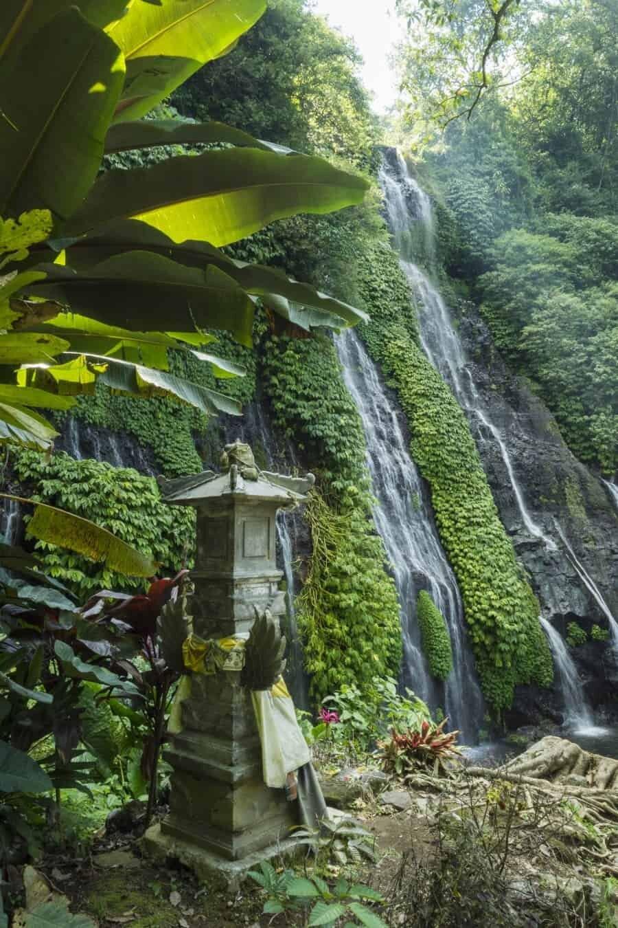 Banyumala Twin Waterfalls, Bali, Indonesia