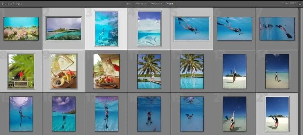 Lightroom Editing Sample - social media for photographers and Instagram