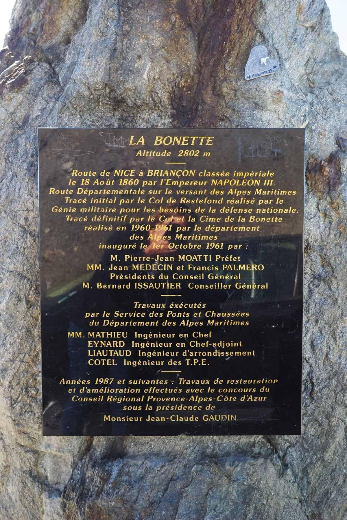 Col de la Bonette, France, the highest road in France.