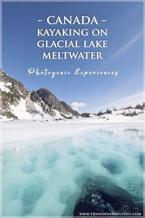 Incredible Outdoor Adventures - Kayaking Glacial Lakes in Canada